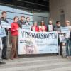 Datenschützer: Neue EU-Kommission soll Vorratsdatenspeicherung beerdigen / Campact, Digitalcourage, der Digitale Gesellschaft und AK Vorrat übergeben über 100.000 Unterschriften (FOTO)