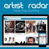 Artist Radar startet intelligente Media Shopping und News Plattform.