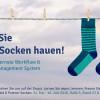 """Lewald & Partner startet zur Drupa Workflow Kampagne """"Es wird Sie aus den Socken hauen"""""""