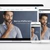 Homepage für Versicherungsmakler mit IReS
