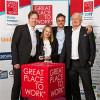 """Aus dem Ruhrpott auf das Berliner Siegerpodest: QuinScape GmbH ist bei """"Great Place to Work®"""" 2017 als einziges Ruhrgebiets-Unternehmen einer der 100"""