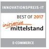 ShopCockpit erhält Innovationspreis IT 2017 in der Kategorie E-Commerce