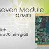 AXIOMTEKs Industrietaugliches QSeven-Modul