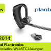 CeBIT 2014: ESTOS und Plantronics zeigen innovative WebRTC-Lösungen