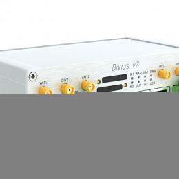 B&B Electronics stellt Conel Bivias v2 Cellular Router vor / HMI 2014 Halle 8/D30