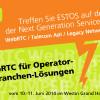 """ESTOS präsentiert auf dem internationalen Event """"Next Generation Service Platforms"""" WebRTC Software für Operator- und Branchen-Lösungen"""