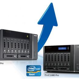 QNAP Turbo NAS TS-ECx80 Pro: Höchste Leistung und Skalierbarkeit mit SAS Tower-Erweiterung