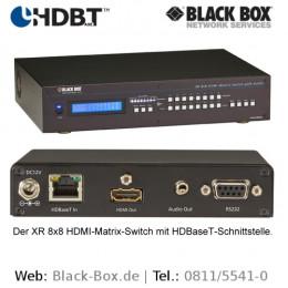 Black Box zeigt: HDBaseT-Technologie als Basis fexibler IT-Netzwerke