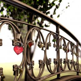 Virtuelle Liebesschlösser werden international immer beliebter