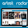 Artist Radar startet intelligente Media Shopping und News Plattform.