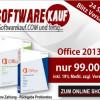 Microsoft Office 2013 günstig ab 99? bei softwarekauf.com kaufen