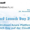 Windows Azure Launch Day auf der CloudConf