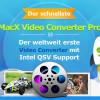 MacX Video Converter Pro V5.9.0 bietet die weltweit schnellste Geschwindigkeit durch führenden Hardware-Beschleunigung Tech Support