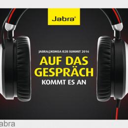 Jabra bietet Messebesuchern Jabra Evolve 80 als Leihmuster