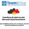 TeamDrive ist als einer der ersten Services in der Microsoft Cloud Deutschland