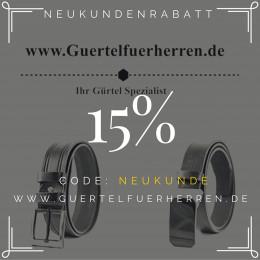 Guertelfuerherren.de – Webshop exklusiv für Männer bietet hochwertige Ledergürtel als günstige Eigenmarke