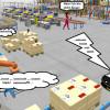 Virtuelle Logistikplanung mit 3D-Brille