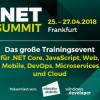 Der .NET Summit 2018 mit zehn Workshops, zwei Keynotes und zwei Night-Sessions