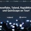 Cloud Business Intelligence: QuinScape-Roadshow mit Talend, Snowflake und RapidMiner