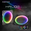 NEUHEIT bei Caseking – Phanteks Halos Digital RGB-Lüfterrahmen mit adressierbaren LEDs.