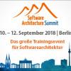 """Software Architecture Summit – Das große Trainingsevent für Softwarearchitektur wird um den Track """"Domain-driven Design"""" erweitert"""