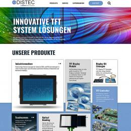 Neuer Internetauftritt von Distec jetzt auf distec.de