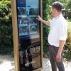 Einweihung des ersten digitalen Informationsdisplays NAVOMAX® im Tierpark Gettorf