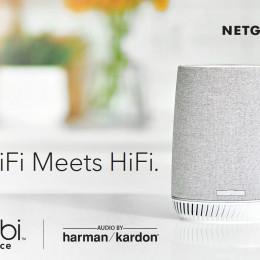 NETGEAR® präsentiert mit Orbi? Voice das weltweit erste Mesh-WLAN-System mit integriertem Alexa? Smart Speaker und Klang von Harman Kardon®