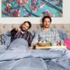 Ulmen und Yardim schauen MagentaTV für die Telekom (FOTO)