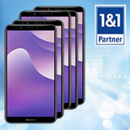 TK-World AG stattet seine 1&1 Partner mit Huawei Y7 Smartphones aus