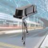 HUBER+SUHNER verbessert Passagierkomfort mit Einführung der 5 Port Zugdachantenne