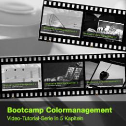 Colormanagement Bootcamp  – kostenlose Videotutorials von Datacolor und Foto.TV