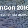 InCon 2019 bietet exklusives SAP BI-Wissen aus erster Hand
