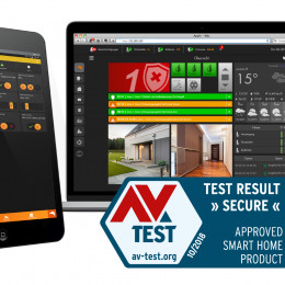AV-TEST zertifiziert LUPUS-Smarthome-Alarmsystem