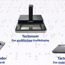 """EU-gefördertes Start-up Inventivio stellt auf der Fachmesse SightCity aktuelles Modell des Tast-Displays """"Tactonom"""" und zwei brandneue Technologien vor"""