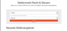 Neue Verbreitungskooperation: Juristische Stellenbörse: Spitzenjuristen treffen renommierte Arbeitgeber