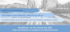 Cloud-Anbieter und der Datenschutz – Handbuch von ASC informiert über Compliance und Datensicherheit in der Cloud