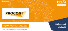 PROCON IT unterstützt TDWI München, die Fachkonferenz für Business Intelligence und Analytics