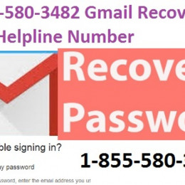 +1-855-580-3482 How to recover a Forgotten Gmail password