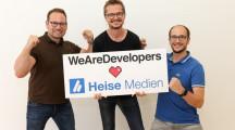 Mehr Power für die Entwickler-Community / Heise steigt bei WeAreDevelopers ein (FOTO)