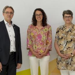 Hessens Wissenschaftsministerin überzeugt sich von Cybersicherheit made in Darmstadt