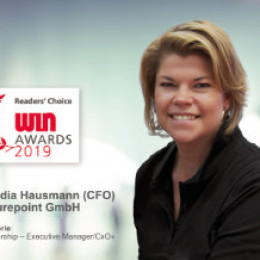 Claudia Hausmann als IT-Women of the Year nominiert