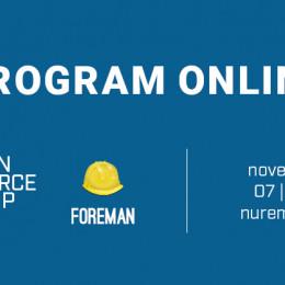 OSCAMP on Foreman: Programm online