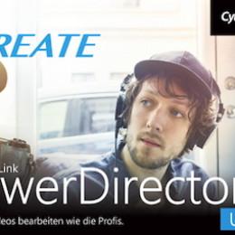 CyberLink Webinar am 24. Oktober 2019: Videobearbeitung mit dem neuen PowerDirector 18