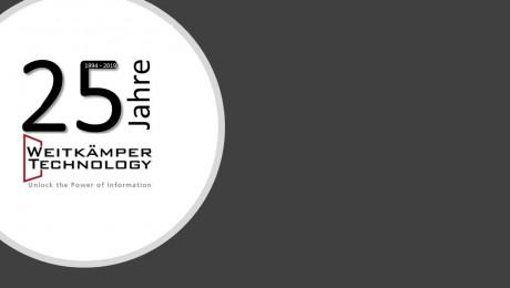 Weitkämper Technology feiert 25jähriges Firmenjubiläum