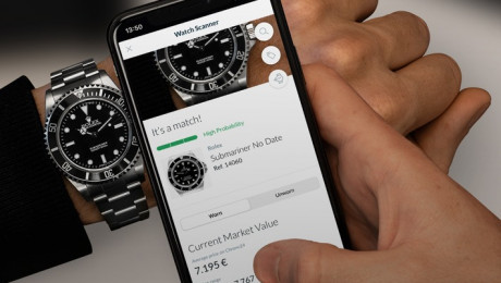 Uhren mit nur einem Foto-Klick erkennen / Chrono24 veröffentlicht den Watch Scanner (FOTO)
