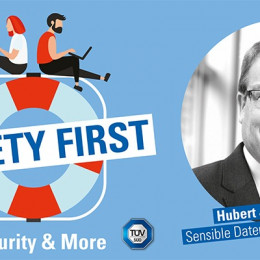 "TÜV SÜD-Podcast ""Safety First"": Sensible Daten in der Cloud (FOTO)"