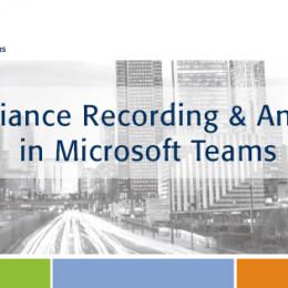 ASC Recording Insights verfügbar für Microsoft Teams