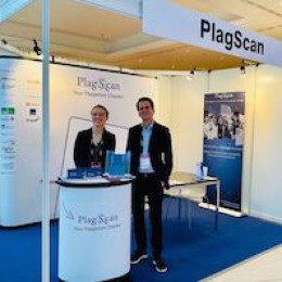 Teilnahme an Bildungskonferenz OEB: PlagScan zieht positive Bilanz