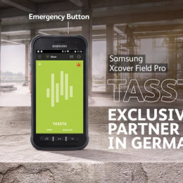 Hart im Nehmen, zuverlässig im Einsatz: Samsung launcht das Galaxy XCover FieldPro mit TASSTA / Robustes Outdoor-Smartphone ermöglicht missionskritische Kommunikation (FOTO)